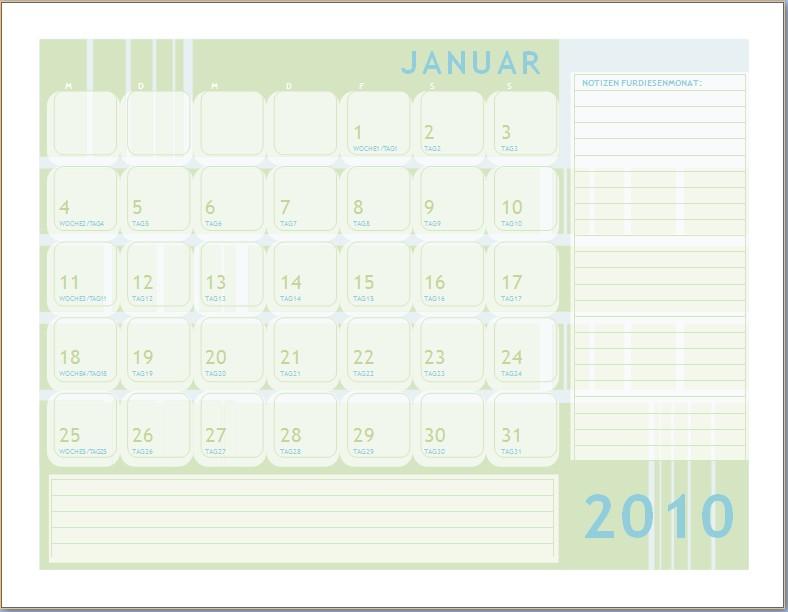 Julianischer kalender 2010